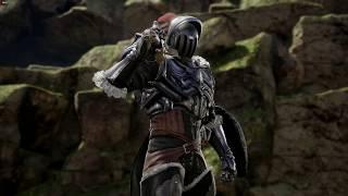 High Elf Archer Kicks Goblin Slayer, but in SoulCalibur VI