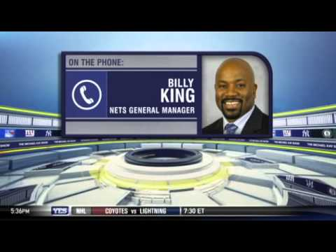 Billy King on the Nets expectations - The Michael Kay Show