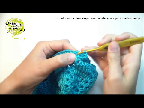 Tutorial Vestido Niña Bebé Crochet Baby Girl Dress (English Subtitles)