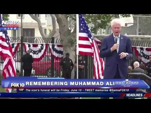 MUST WATCH: Bill Clinton's Emotional Reaction to Muhammad Ali's Death - FNN