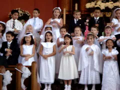 Sarah - First Communion (you're A Great Big God Performance) video