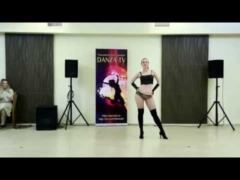 Танцевальная Премия DANZA TV 22.02.15г., Sexy Strip Danza girl BEGINNER 1 место - Елена Зайцева