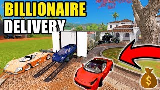 BILLIONAIRE CAR DELIVERY | WE GOT ANOTHER MACLAREN AND FERRARI FOR SPENCER TV | MULTIPLAYER