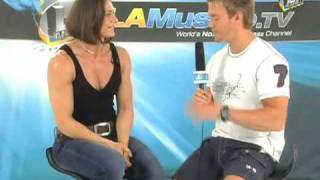 Rob Riches Interview with Miss Muscle Beach Ildiko Gaspar