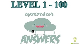 Apensar: Guess the Word Level 1 - 100 - All Answers - Walkthrough