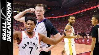 NBA Finals Game 2: Raptors Mad At Refs, So Are Warriors