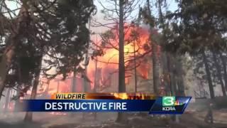 Destructive Boles wildfire burns 150 buildings in Weed