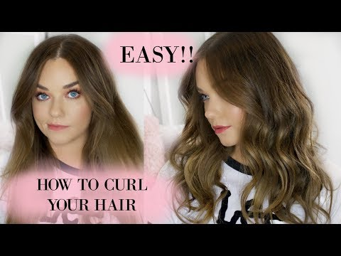 How To Curl Your Hair The Easy Way   VS Sassoon Curl Secret Multi Curl Review