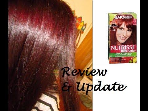 garnier nutrisse light intense auburn review amp update