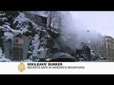 WikiLeaks  Swedish bunkers