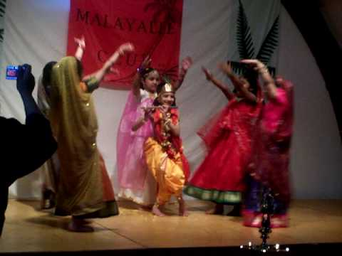 Nritham Adu Krishna- Oxford Malayali Club-vishu video
