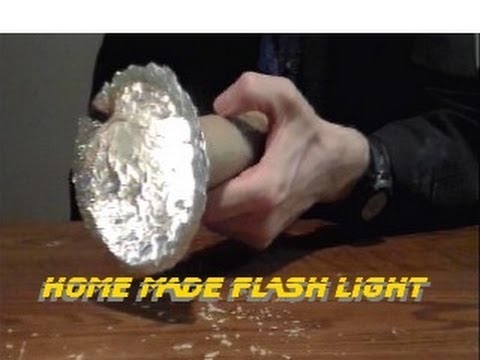 MAKE YOUR OWN WORKING FLASHLIGHT