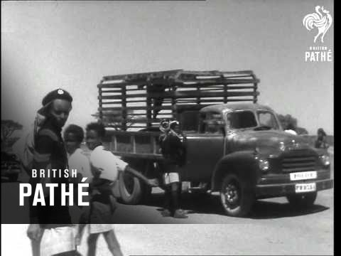 Duke And Duchess Visit Ethiopia Roll 1 (1958)