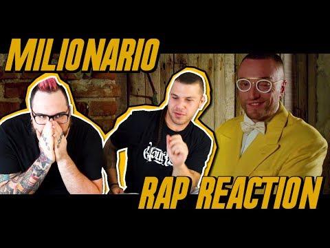 Guè Pequeno - Milionario ft. El Micha   RAP REACTION 2017   ARCADEBOYZ