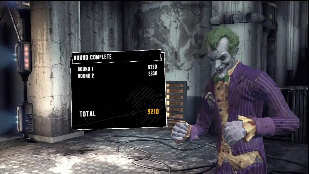 Batman Arkham Asylum Joker Gameplay 1 Maximum