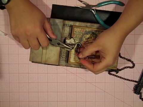 Tim Holtz Paperbag Mini Album Episode 4