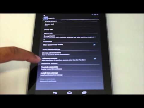 Installing Adobe Flash on Google Nexus 7 Tablet and Other Android JellyBean Devices