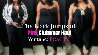 The Black Jumpsuit Haul |Plus Size Fashion Haul|