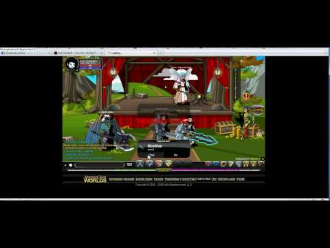 AQW Ballyhoo~~~ advertisement trick!! (must see)