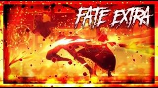 Saber Nero vs Archer Nameless Hero - Fate Extra Last Encore