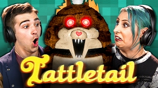 TATTLETAIL - TERRIFYING TOYS!!! (Adults React: Gaming)