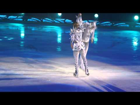 Johnny Weir and Evgeni Plushenko. The Snow King. 3.I.2015 St.Petersburg