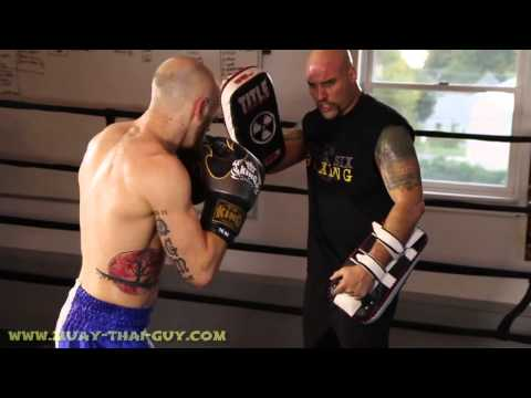 Muay Thai Power Drill with Pad work Image 1