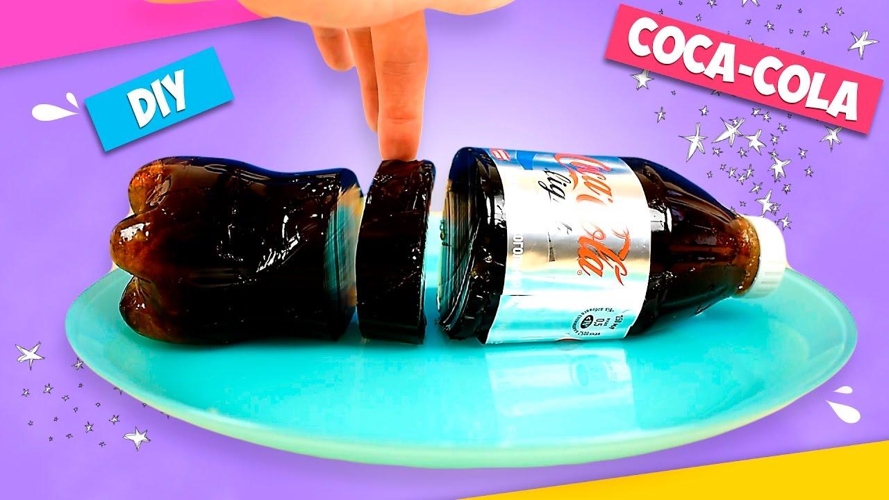 "Как сделать желейную ""Кока-Колу"". Рецепты 66"