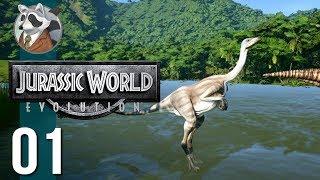 Dino DNA|Let's Play Jurassic World:Evolution|Ep.1