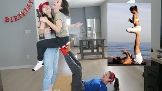 EXTREME COUPLES YOGA CHALLENGE!!