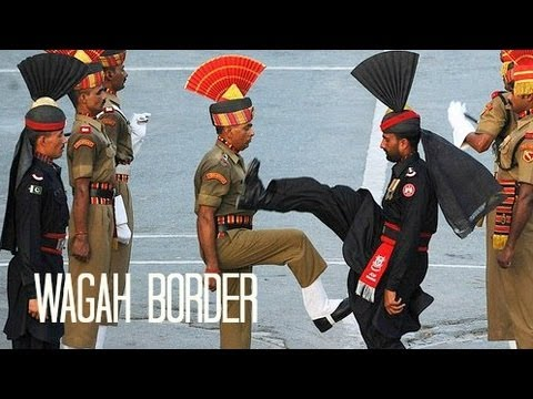 Pakistan: Wagah Border Ceremony واگها वाघा video