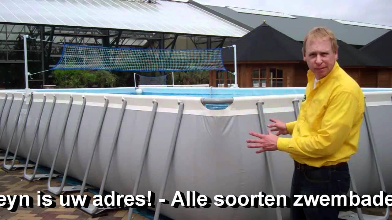 Intex zwembad kopen fonteyn is uw adres youtube for Ondervloer intex zwembad