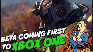 FALLOUT 76 - Beta Coming First To Xbox One!