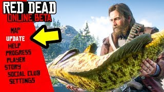 NEW Red Dead Online Update! Fishing Challenges, New Items, New Clothes & More!