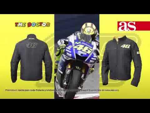 Consigue en exclusiva con AS la cazadora oficial de Valentino Rossi