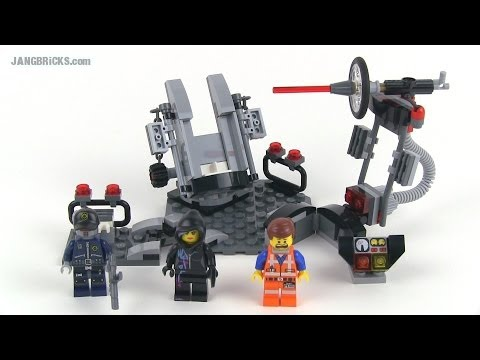 LEGO Movie set review: Melting Room 70801!