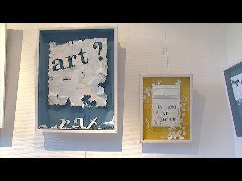 Luçon : l'art papier de Daniel Mar exposé à la médiathèque
