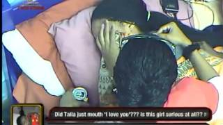 Weeping Talia   Big Brother Africa StarGame   Africa's Top Reality TV Show