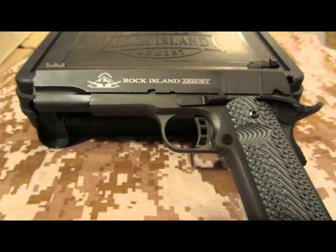 Rock Island Armory 1911 Tactical 2 FS 300 Round Report