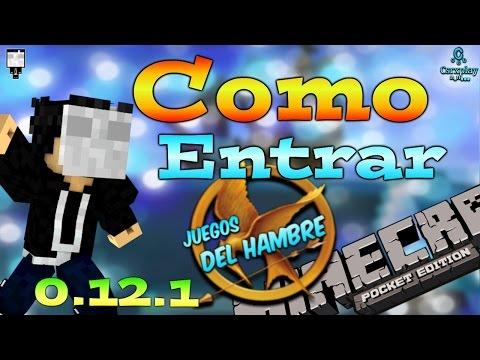 Como entrar a los Juegos del Hambre en Minecraft PE 0.12.1
