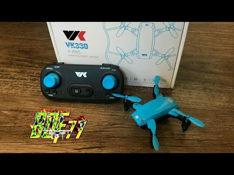 VIK vk330 4-AXIS Mini Foldable Drone ( Great For Kids )