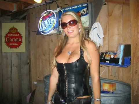 sturgis motorcycle rally 2010 black hills biker chicks pole dancing girls girls girls - YouTube