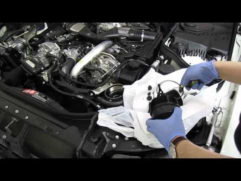 Mercedes E320 Bluetec OM642 Oil Change