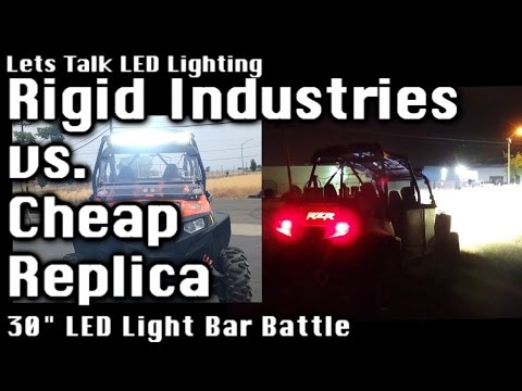 A MUST SEE! Eye Opening Comparison - Rigid Industries 30