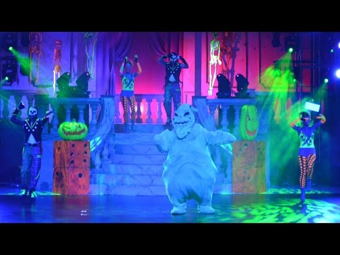 Oogie Boogie's Freaky Funhouse Show Intro and Finale featuring Oogie Boogie at Villains Unleashed