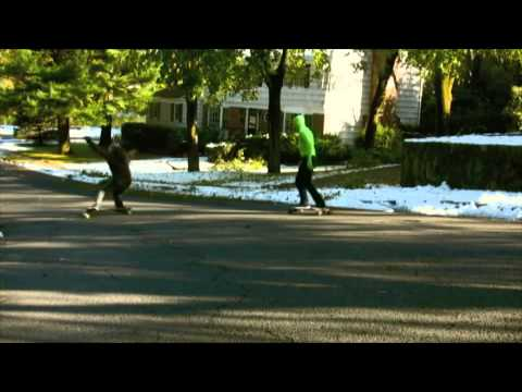 Longboarding: Snowy, Sloppy, Sketchy Skating