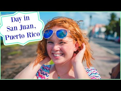 Vlogmas Day 5: CRUISE DAY 1: Day in San Juan, Puerto Rico | Brittany and Alex