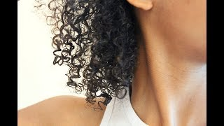 Natural Hair Wash and Go Routine for 3b/3c/4a Hair Types
