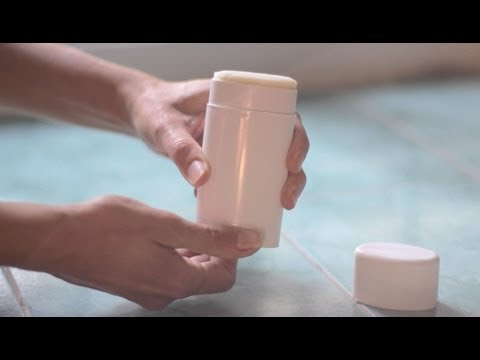 How to make homemade natural deodorant