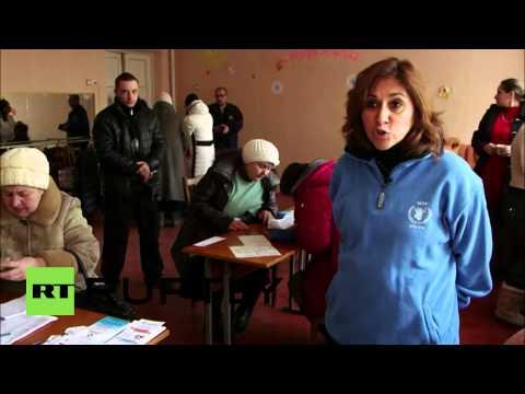 Ukraine: UN WFP ups emergency food aid to East Ukraine